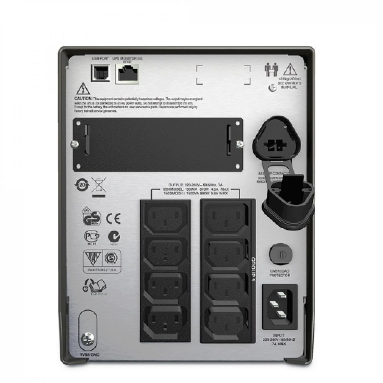 APC Smart-UPS 1500 VA SMT1500I